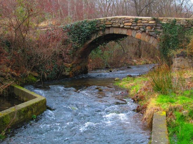 Este puente románico debe tener muchas historias que contar