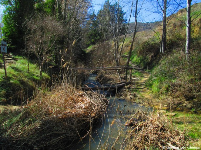 Fuente de las Vivas, inicio de la ruta circular
