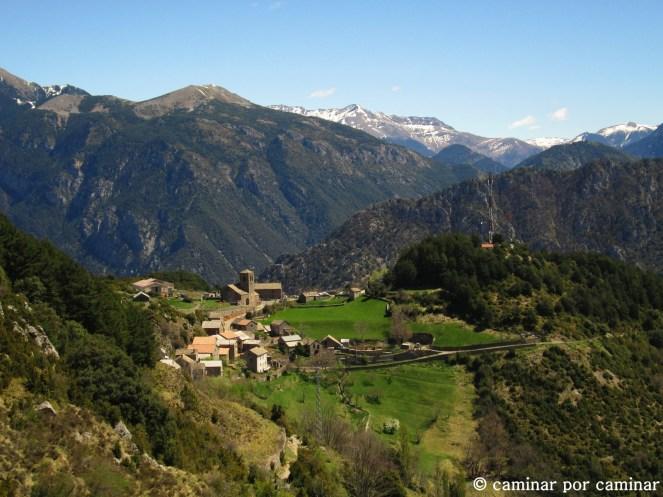 Tella, auténtico pueblo de montaña pirenaico