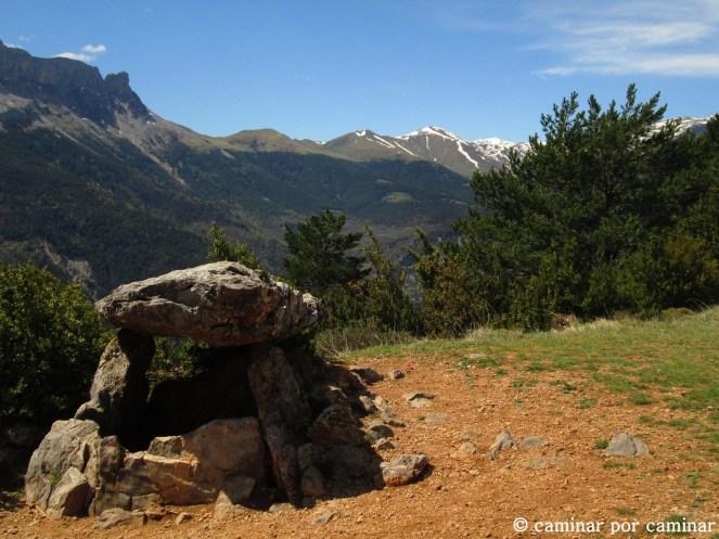 Este dolmen nos habla de antiguos moradores del Pirineo