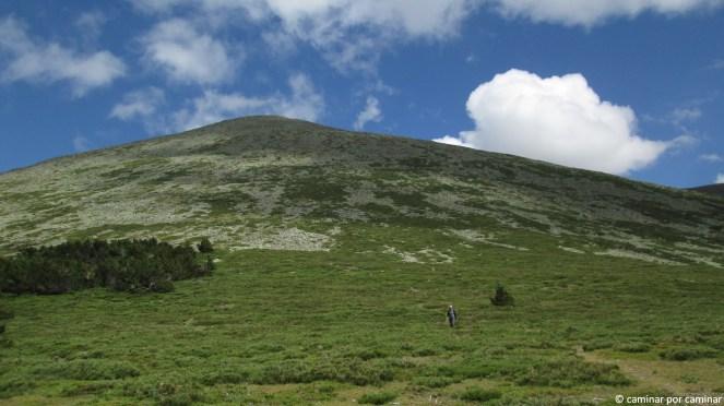 Panorámica inmensa del Moncayo desde el Collado Castilla