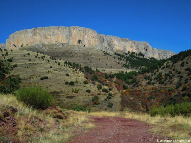 La majestuosa visión de la Muela de Añón (foto de 2013)