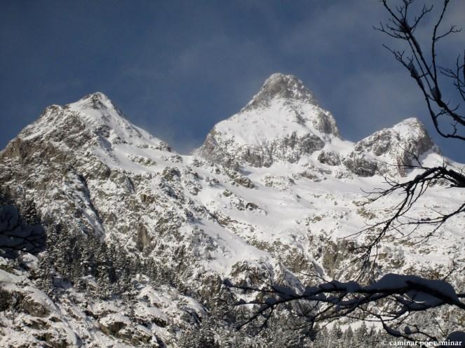 Picos Argualas y Algas, imponentes