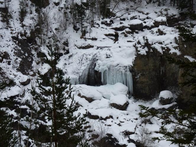 La cascada siberiana de Arripas