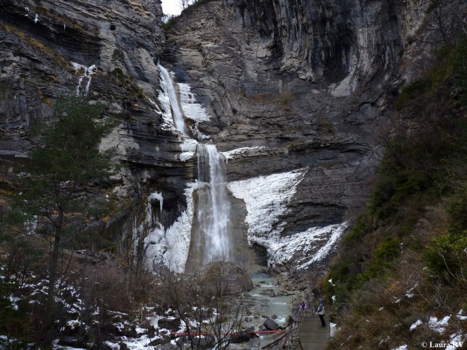 Última parada en la cascada del Sorrosal en Broto