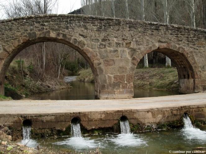 Puente medieval sobre el Guatizalema.