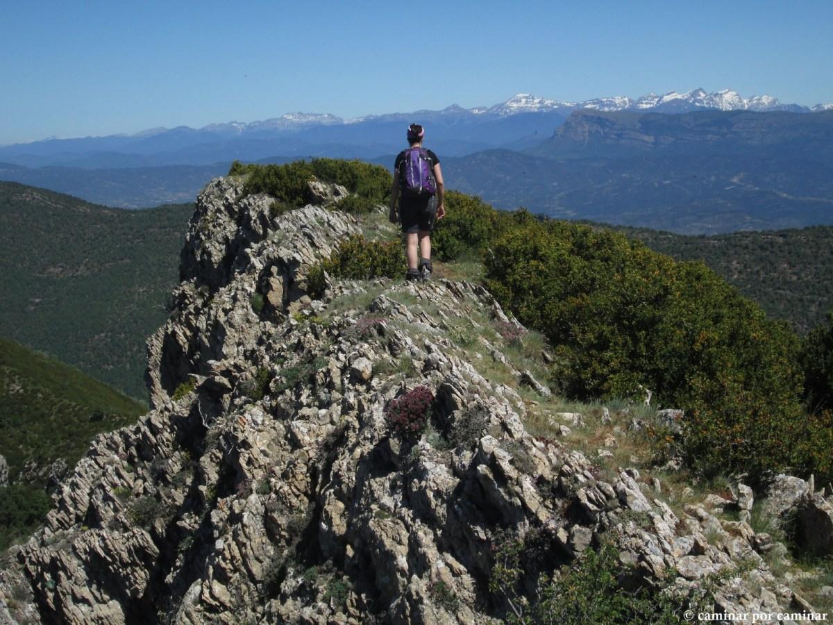Pico Peiró, la almena del Prepirineo