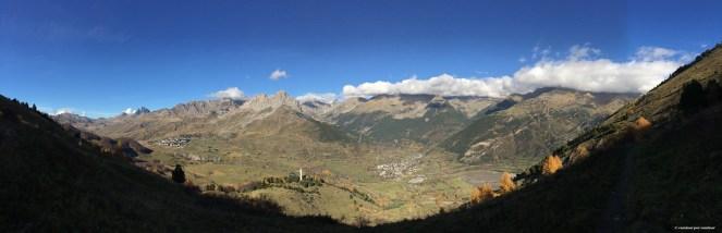 Gran panorámica desde el Collado de Pacino a 1825 msnm