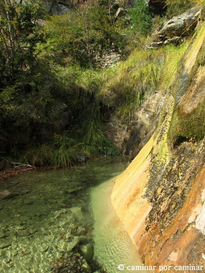 Barranco Rimalo, estamos cerca de Ainielle