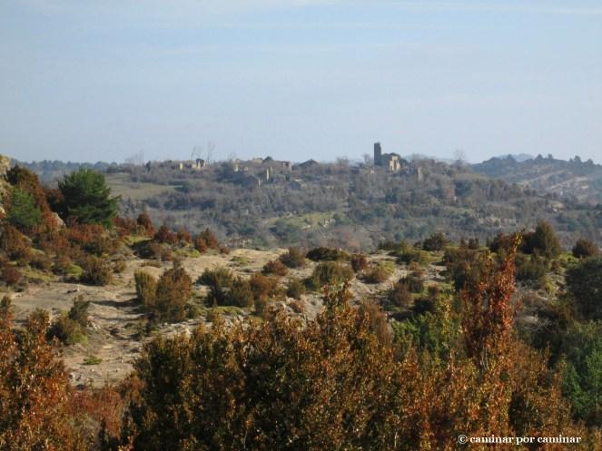 Primera imagen de Ibirque desde las Planas homónimas