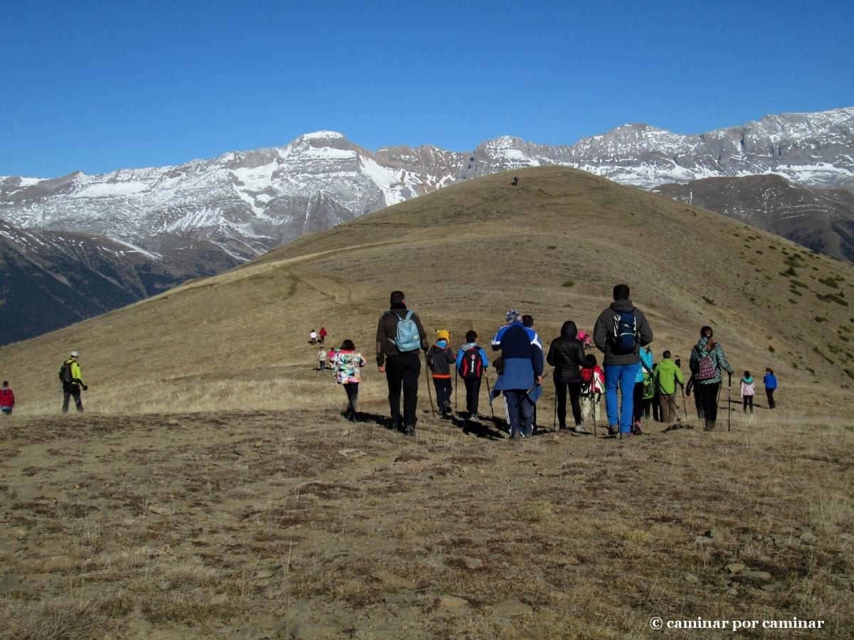 Belén montañero en San Benito de Erata 2015