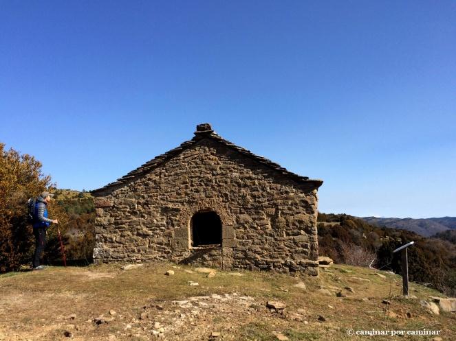 La pequeña y solitaria ermita de la Magdalena