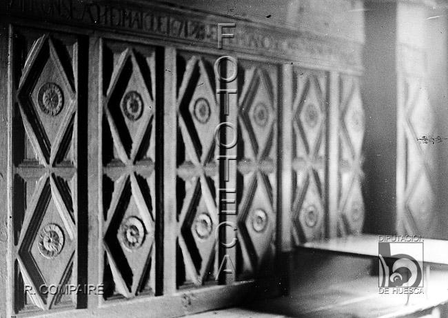 La cadiera de Casa Oliván. Fuente: FDPH, Ricardo Compairé, 1920-1936