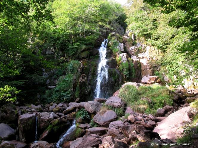 La cascada paradisiaca de Espélunguère