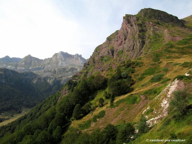 Llegando al Col de la Mousquère, un regalo para la vista