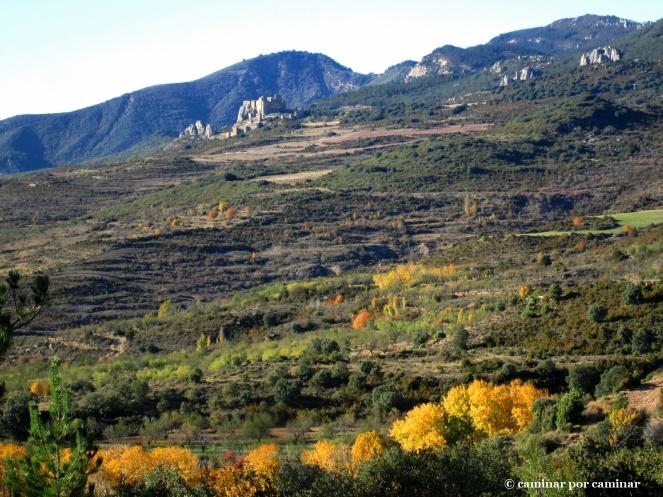El Castillo de Loarre durmiendo el sueño del otoño