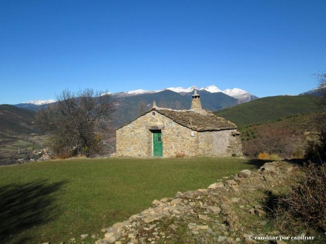 El pajar en torno al cual los descendientes de Bergosa siguen celebrando la fiesta de San Saturnino