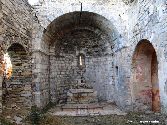 Detalles del interior del templo