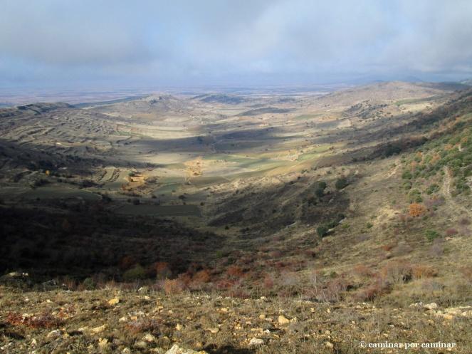 El valle que ve nacer al río de Lanzuela