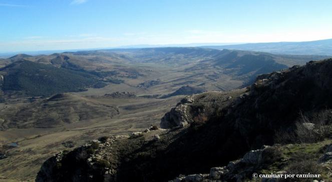 El maravilloso valle donde se asienta el Colladico y Piedrahíta