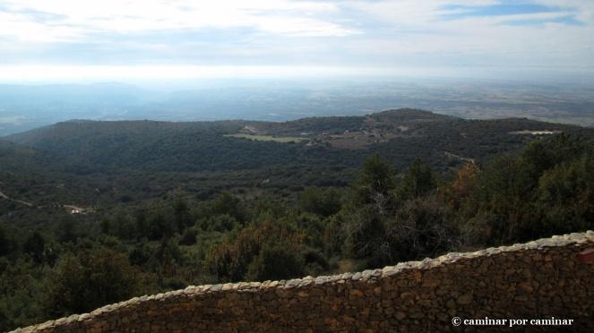 San Pelegrín desde el abrigo de Quizans