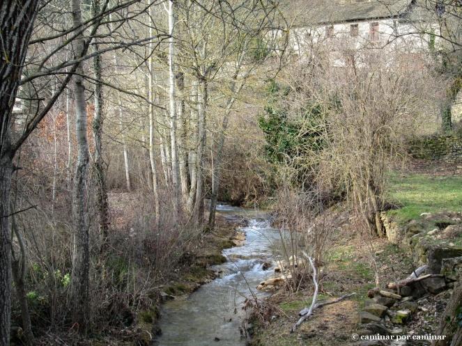 El salvaje Barranco de la Carbonera antes de entrar al pueblo