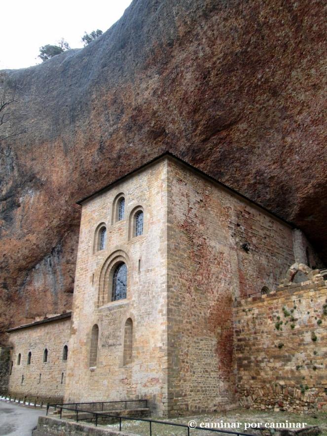 Excepcional ubicación del monasterio viejo