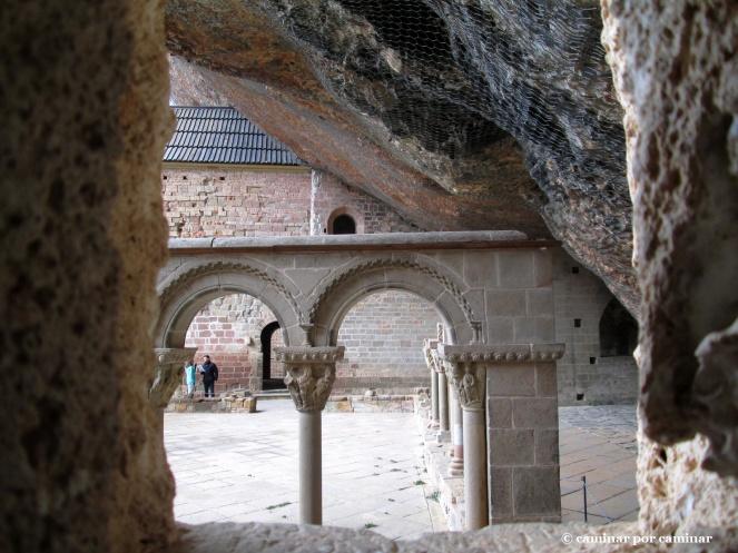 El claustro, joya del monasterio