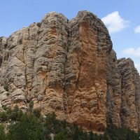 Las rocas del Masmut, el emblema de Peñarroya